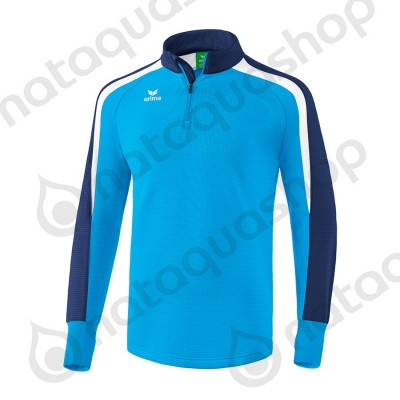 SWEAT D'ENTRAINEMENT LIGA 2.0 - ADULTE curacao/new navy/blanc