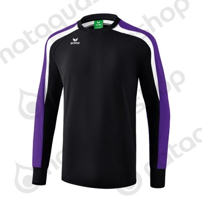 SWEATSHIRT LIGA 2.0 - JUNIOR noir/dark violet/blanc
