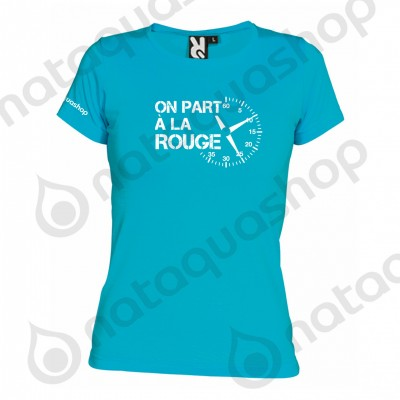 ON PART A LA ROUGE - WOMAN  turquoise