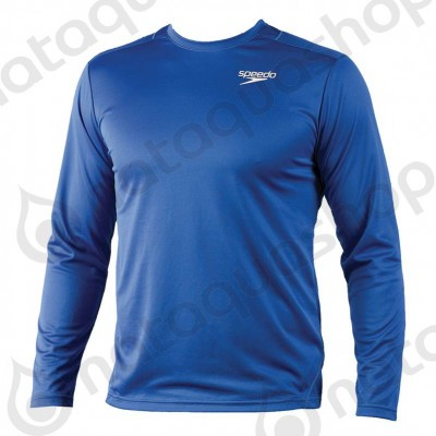 ILIAS UNISEX TECHNICAL LS-SHIRT royal blue