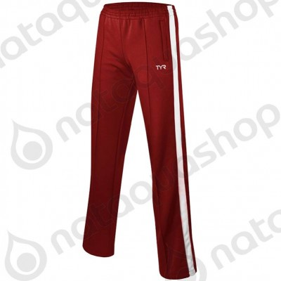PANTALON FREESTLYE WARM-UP - FEMME Rouge