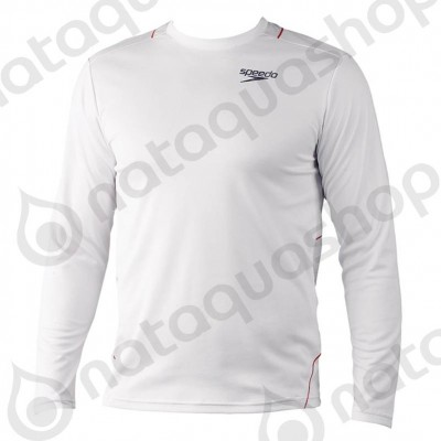ILIAS JUNIOR TECHNICAL LS-SHIRT Blanc