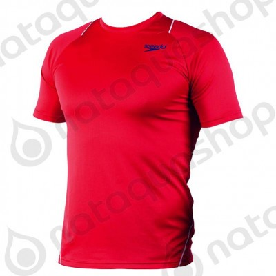 VEETI FEMALE TECHNICAL T-SHIRT Rouge