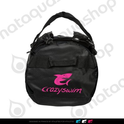 Deluxe Holdall Small Bag - 25L Black/pink