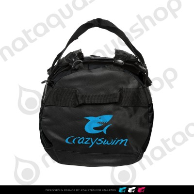 Deluxe Holdall Small Bag - 25L Black-Turquoise