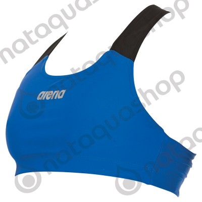 W PERFORMANCE BRA TOP Royal/black