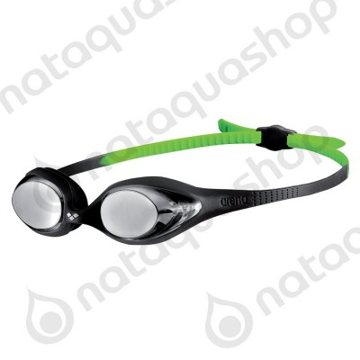 SPIDER JUNIOR MIRROR Black/silver/green