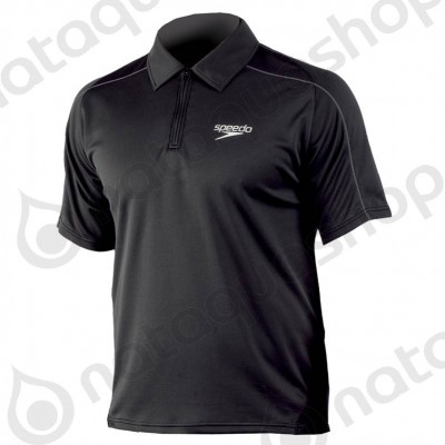 ROLLE UNISEX TECHNICAL POLO SHIRT Black