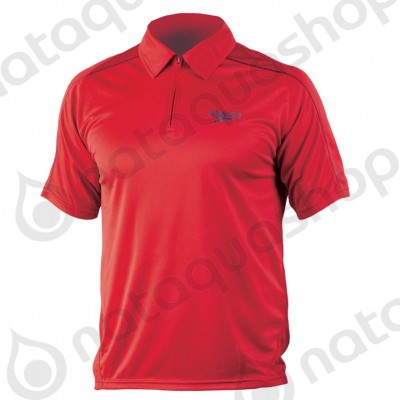 ROLLE UNISEX TECHNICAL POLO SHIRT Rouge