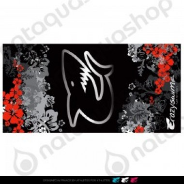 CRAZY COTTON TOWEL - HAWAII COLLECTION HAWAII BLACK - photo 0