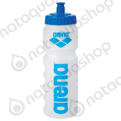 NEW ARENA WATER BOTTLE Clear/blue