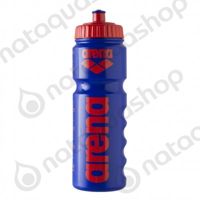 NEW ARENA WATER BOTTLE Bleu/ rouge