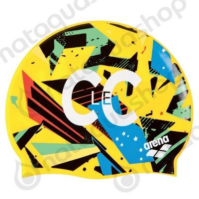 C LE C SILICONE CAP Yellow star/multi