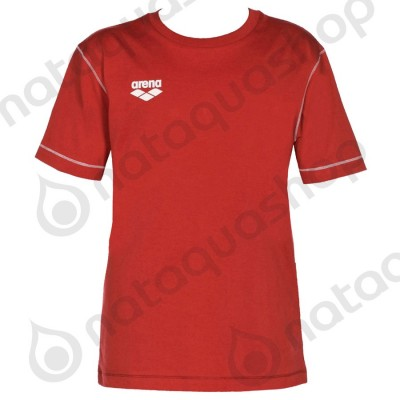 TL SS TEE - JUNIOR Rouge