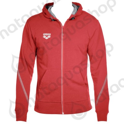 TL HOODED JACKET - UNISEXE Rouge