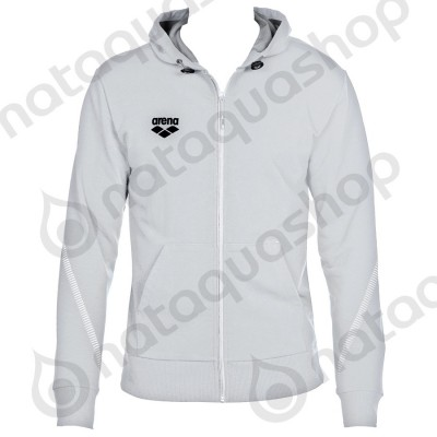 TL HOODED JACKET - UNISEXE Blanc