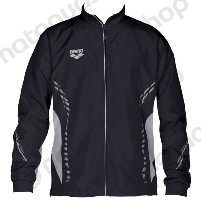 TL WARM UP JACKET - UNISEXE Noir