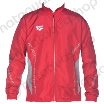 TL WARM UP JACKET - UNISEXE Rouge