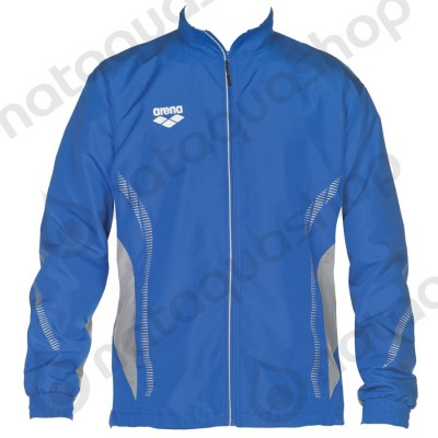 TL WARM UP JACKET - UNISEXE Bleu roi