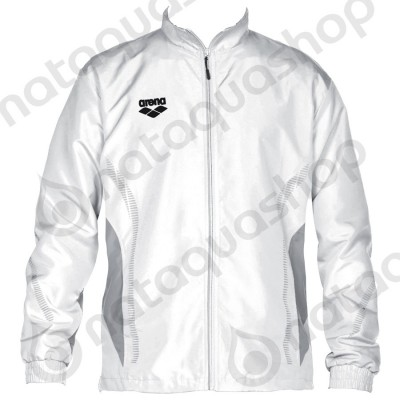 TL WARM UP JACKET - UNISEXE Blanc