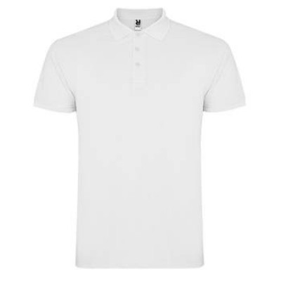 POLO STAR HOMME 6638 BLANC 01