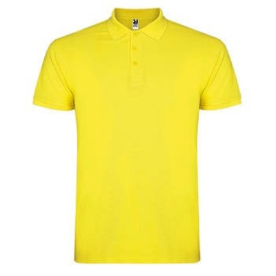 POLO STAR HOMME 6638 JAUNE 03