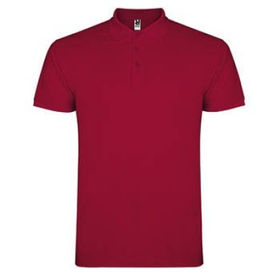 POLO STAR HOMME 6638 GRENAT 57