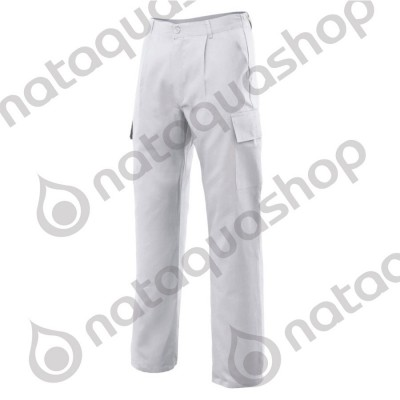 PANTALON CASTER MAN White