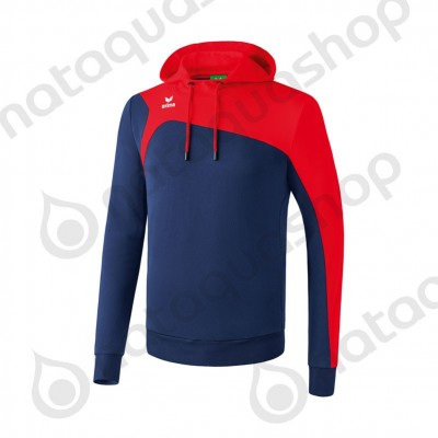 SWEAT À CAPUCHE CLUB 1900 2.0 - HOMME new navy/rouge