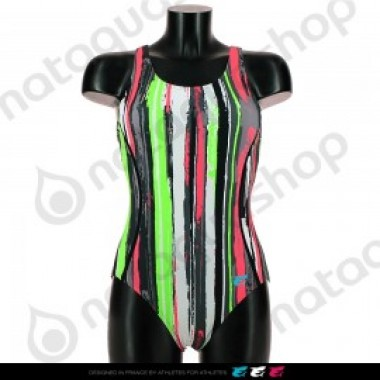 CRAZY STRIPES LB- FEMME Noir - photo 0