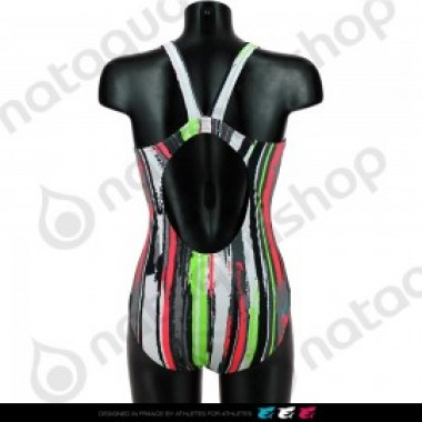 CRAZY STRIPES LB- FEMME Noir - photo 1