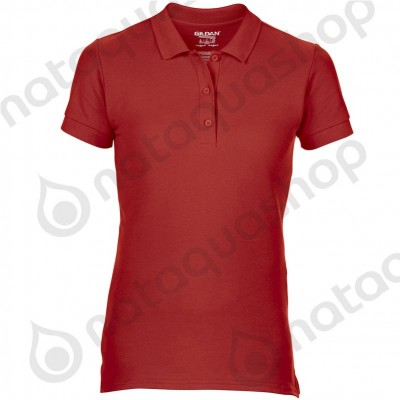 POLO GD043 - FEMME Rouge