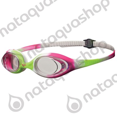 SPIDER JUNIOR Lime/fuchsia/white/clear
