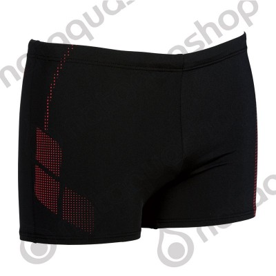 SHADOW SHORT HOMME Noir/rouge