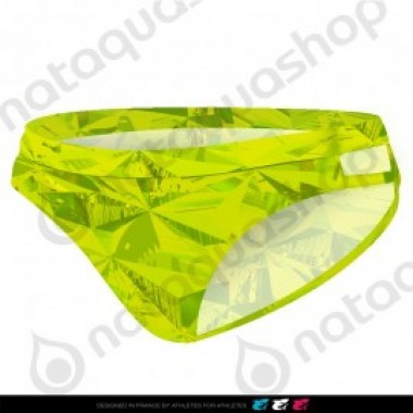 PRIMEVAL DOUBLE STRAP BRIEF - FEMME VERT LIME - photo 0