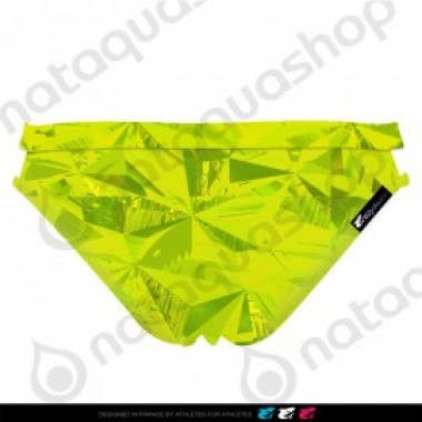 PRIMEVAL DOUBLE STRAP BRIEF - FEMME VERT LIME - photo 1