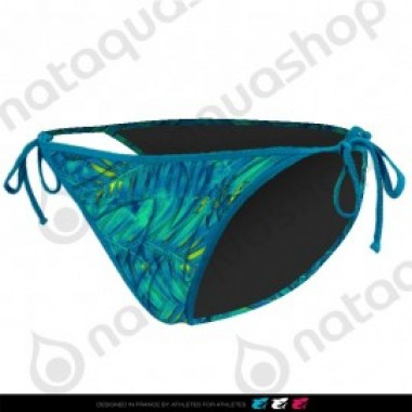 MAD FERN TIE SIDE BRIEF - FEMME BLEU LAGOON - photo 0