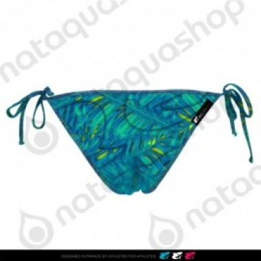 MAD FERN TIE SIDE BRIEF - FEMME BLEU LAGOON - photo 1