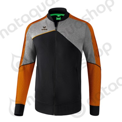 VESTE DE PRÉSENTATION PREMIUM ONE 2.0 - JUNIOR noir/gris chiné/fluo orange