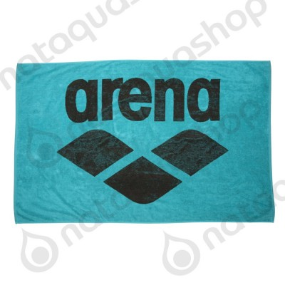 POOL SOFT TOWEL Mint/Espresso