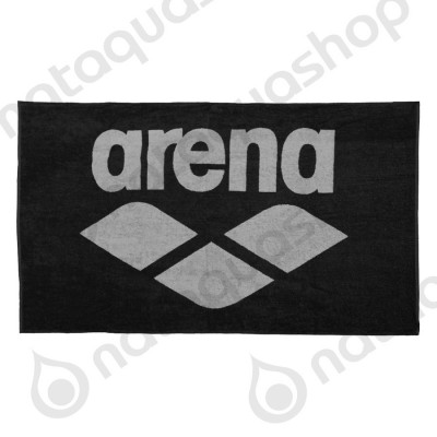 POOL SOFT TOWEL Black