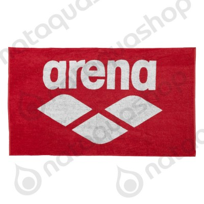 POOL SOFT TOWEL Red