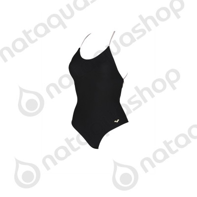 W ONE PIECE TWIST BACK Noir