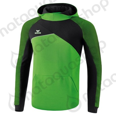 SWEAT A CAPUCHE PREMIUM ONE 2.0 - JUNIOR green/noir/blanc