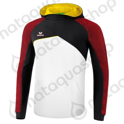SWEAT A CAPUCHE PREMIUM ONE 2.0 - JUNIOR blanc/noir/rouge/jaune
