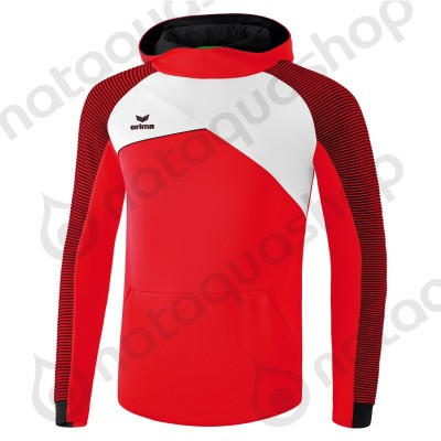 SWEAT A CAPUCHE PREMIUM ONE 2.0 - JUNIOR Rouge/Blanc/Noir