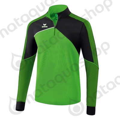SWEAT D'ENTRAINEMENT PREMIUM ONE 2.0 - JUNIOR green/noir/blanc