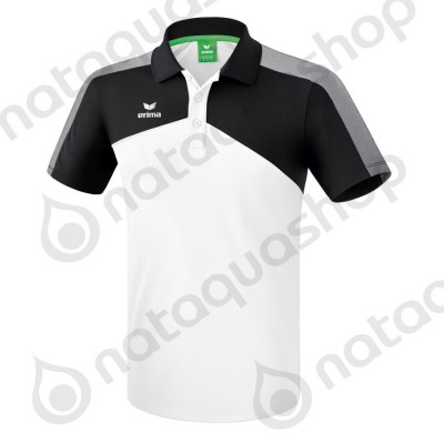 POLO PREMIUM ONE 2.0 - JUNIOR Blanc/noir/blanc