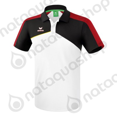 POLO PREMIUM ONE 2.0 - JUNIOR white/black/red/yellow