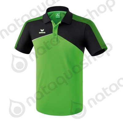 POLO PREMIUM ONE 2.0 - HOMME green/noir/blanc